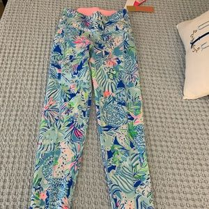 NWT Lilly Pulitzer Luxletic High Rise Leggings